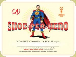 Shoe-per-Hero Certificate